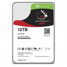 Seagate 12TB IronWolf NAS SATA 6Gb/s NCQ 256MB Cache 3.5-Inch Internal Hard Drive