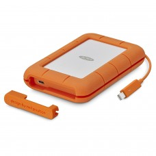 LaCie Rugged Thunderbolt USB-C 500GB SSD Portable Hard Drive