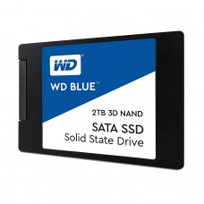"WD Blue 3D NAND 2TB PC SSD - SATA III 6 Gb/s 2.5""/7mm SSD Drive"