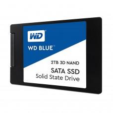 "WD Blue 3D NAND 2TB PC SSD - SATA III 6 Gb/s 2.5""/7mm SSD Drive"