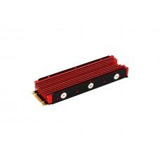 JEYI Cooling Warship Pro NVME NGFF M.2 SSD Heat Sink Aluminum ,Thermal Conductivity Silicon Wafer Cooling Heatsink