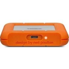 LaCie Rugged USB-C and USB 3.0 1TB Portable Hard Drive