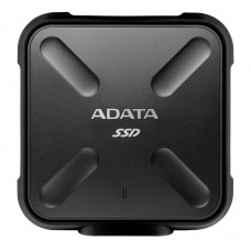 ADATA SD700 3D NAND 512GB Rugged Water,Dust,Shock Proof External SSD Drive Black