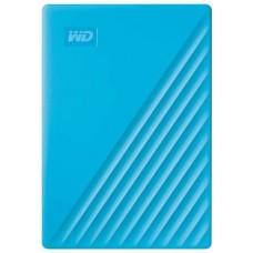 WD My Passport 2TB Portable External Hard Drive, Blue