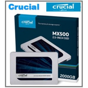 Crucial internal solid state drives (SSDs)