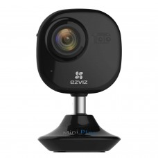 EZVIZ Mini Plus HD 1080p Wi-Fi Video Security Camera Black