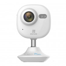 EZVIZ Mini Plus HD 1080p Wi-Fi Video Security Camera White