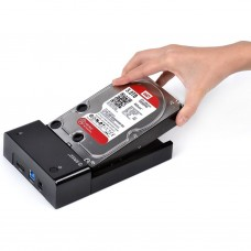 ORICO® USB 3.0 & eSATA to SATA Hard Drive Docking Station for 2.5 Inch or 3.5 Inch SATA HDD & SSD