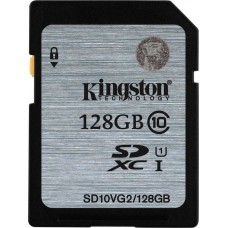 Kingston 128GB (SDXC) Memory Card ( Class 10) UHS-1