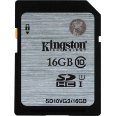 Kingston 16GB (SDHC) Memory Card ( Class 10) UHS-1