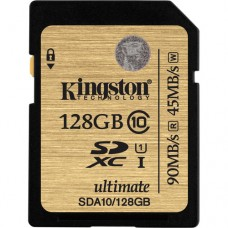 Kingston 128GB (SDHC) UHS-1 SD Ultimate Card