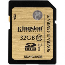 Kingston 32GB (SDHC) UHS-1 SD Ultimate Card