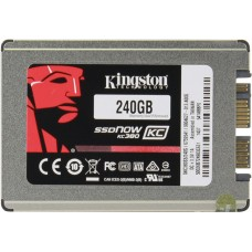 "Kingston SSD micrioSATA SSDNow SKC380 1.8"" 240GB"