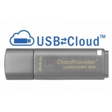 Kingston DataTraveler Locker+ G3 64GB, USB 3.0