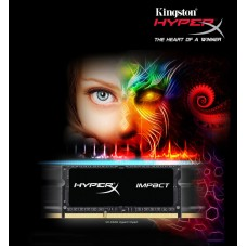Kingston HyperX Impact Black fos iMac DDR3L - 8 GB - SO DIMM 204-pin