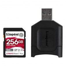 Kingston 256GB SDHC REACT PLUS SDR2 + MLP SD READER