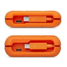 LaCie Rugged Thunderbolt USB-C 2TB Portable Hard Drive