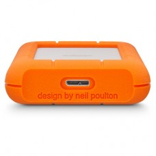 LaCie Rugged Mini USB 3.0 / USB 2.0 2TB External Drive