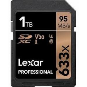 Lexar 1TB Professional 633x SDXC UHS-I Card