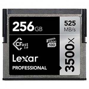 Lexar 256GB Professional 3500x CFast™ 2.0 card