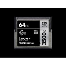 Lexar 64GB Professional 3500x CFast™ 2.0 card