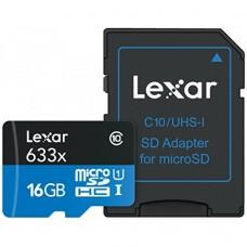 Lexar 16GB MICRO SD CARD 633x C 10