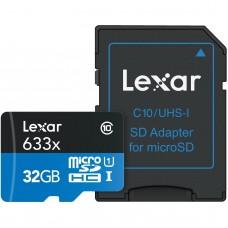 Lexar 32GB MICRO SDHC CARD 633x C 10