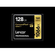 Lexar Professional 1066x 128GB VPG-65 CompactFlash card