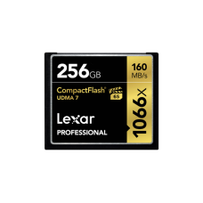 Lexar Professional 1066x 256GB VPG-65 CompactFlash card