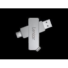 Lexar® 32GB JumpDrive® Dual Drive D30c USB 3.1 Type-C™