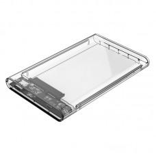 ORICO 2.5 inch Transparent Type-C Hard Drive Enclosure (2139C3)