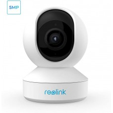 Reolink E1 Zoom 5MP, 2.4GHz/5GHz Wireless IP Camera PTZ, Pan/Tilt and 3x Optical Zoom