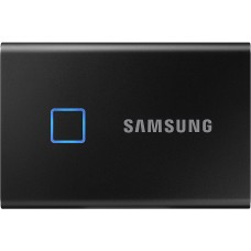 SAMSUNG PORTABLE SSD T7 TOUCH  500GB  Black
