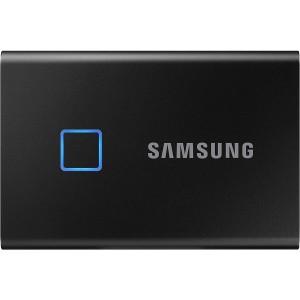 Samsung T7 Touch 2TB (Black) with fingerprint sensor