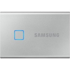 SAMSUNG PORTABLE SSD T7 TOUCH  500GB  Silver