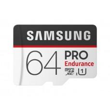 Samsung 64GB Pro Endurance microXDHC USH-I/U1 Memory Card w/SD Adpter