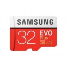 Samsung EVO Plus 32GB MicroSDHC Memory Card with SD Adapter