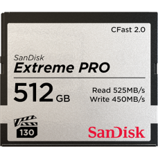 SanDisk 512GB Extreme Pro CFAST 2.0 Memory Card