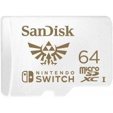 SanDisk 64GB MicroSDXC UHS-I Card for Nintendo Switch