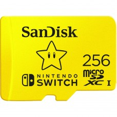 SANDISK 256GB microSDXC CARDS FOR NINTENDO SWITCH