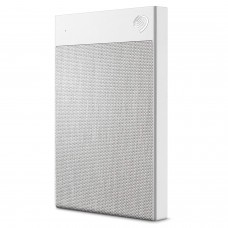 Seagate 1TB Backup Plus Ultra Touch Portable USB-C and USB 3.0 External Hard Drive, White