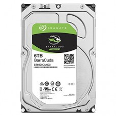 Seagate BarraCuda 6TB Internal SATA 6Gb/s 256MB Cache