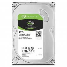 Seagate BarraCuda 1TB Internal  HDD SATA 6Gb/s 64MB Cache