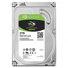 Seagate BarraCuda 2TB Internal SATA 6Gb/s 256MB Cache