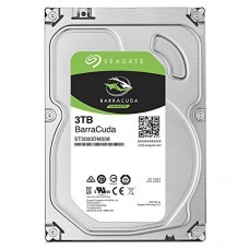 Seagate BarraCuda 3TB Internal SATA 6Gb/s 256MB Cache
