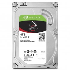Seagate 4TB IronWolf NAS SATA 6Gb/s NCQ 64MB Cache 3.5-Inch Internal Hard Drive