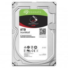 Seagate 8TB IronWolf NAS SATA 6Gb/s NCQ 256MB Cache 3.5-Inch Internal Hard Drive