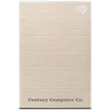 Seagate 1TB Backup Plus Slim Portable External Hard Drive Gold