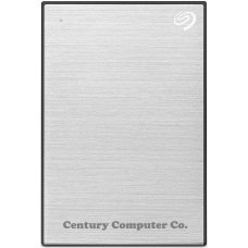 Seagate 1TB Backup Plus Slim Portable External Hard Drive Silver
