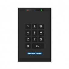 SecureDrive KP Encrypted On-Board Keypad External Portable 1TB HDD